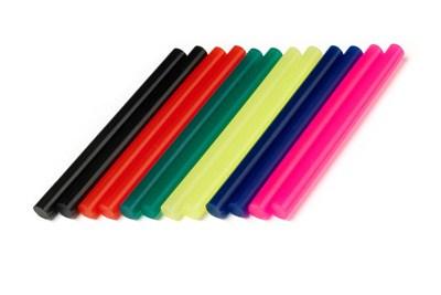 Цветные клеевые стержни (7 мм)