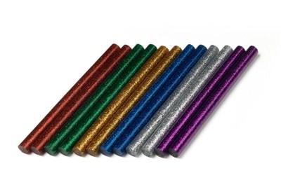 Блестящие клеевые стержни (7 мм)