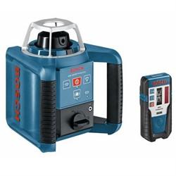 Ротационный лазерный нивелир Bosch GRL 150 HV + приемник LR 1 + пульт RC 1 [0601061301]