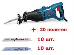 Bosch Ножовки GSA 1100 E АКЦИЯ!!! в чемодане + 20 полотен 0615990ec2
