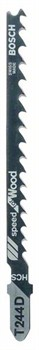 Пильное полотно Bosch T 244 D Speed for Wood [2608630058]