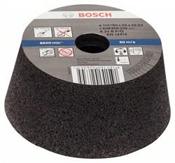 Bosch Чашечный шлифкруг, конусный, по металлу/литью 90 mm, 110 mm, 55 mm, 24 [1608600232]