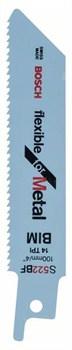 Пильное полотно Bosch S 522 BF Flexible for Metal [2608656011]