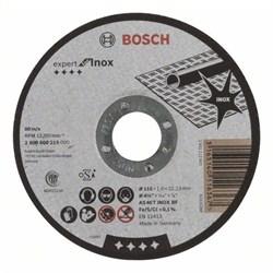 Отрезной круг, прямой, Bosch Expert for Inox AS 46 T INOX BF, 115 mm, 1,6 mm [2608600215]
