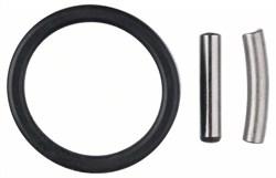 Bosch Набор для фиксации: фиксирующий штифт и резиновое кольцо 5 mm, 25 mm [F00Y145204]