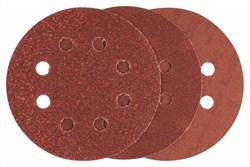 Bosch Шлифлист, в упаковке 6 шт. 60; 120; 240 [2608605107]