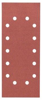 Bosch Набор из 10 шлифлистов 115 x 280 mm, 240 [2608605348]