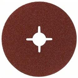 Bosch Фибровый шлифкруг для угловой шлифмашины, корунд 180 мм, 22 мм, 24 [2608605484]