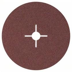 Bosch Фибровый шлифкруг для угловой шлифмашины, корунд 180 мм, 22 мм, 60 [2608605486]