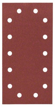 Bosch Набор из 10 шлифлистов 115 x 230 mm, 100 [2608606709]