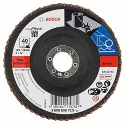 Bosch Лепестковый шлифкруг 100 мм, 16 мм, 40 [2608606713]
