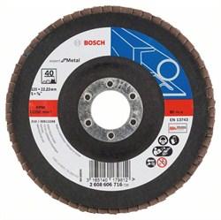 Bosch Лепестковый шлифкруг 125 мм, 22,23 мм, 40 [2608606716]