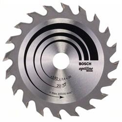 Пильный диск Bosch Optiline Wood 140 x 20/12,7 x 2,4 mm, 20 [2608640586]