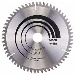 Пильный диск Bosch Optiline Wood 216 x 30 x 2,8 mm, 60 [2608640642]