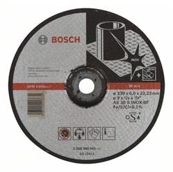 Обдирочный круг, выпуклый Bosch Expert for Inox AS 30 S INOX BF, 230 mm, 6,0 mm [2608600541]