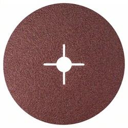 Bosch Фибровый шлифкруг для угловой шлифмашины, корунд 180 мм, 22 мм, 36 [2608607251]