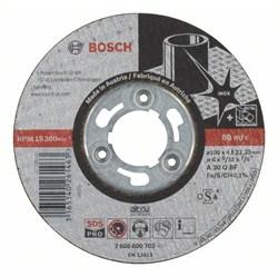 Обдирочный круг, прямой, по нержавеющей стали, Bosch SDS-pro A 30 Q BF, 100 mm, 4,0 mm [2608600702]