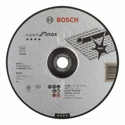 Отрезной круг, выпуклый, Bosch Expert for Inox - Rapido AS 46 T INOX BF, 230 mm, 1,9 mm [2608600711]