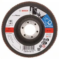 Bosch Лепестковый шлифкруг 115 мм, 22,23 мм, 80 [2608607324]
