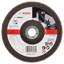 Bosch Лепестковый шлифкруг 180 мм, 22,23 мм, 40 [2608607330]