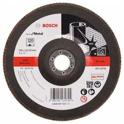 Bosch Лепестковый шлифкруг 180 мм, 22,23 мм, 120 [2608607333]