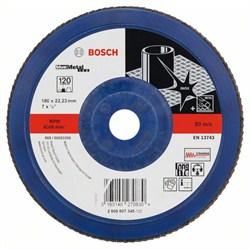 Bosch Лепестковый шлифкруг 180 мм, 22,23 мм, 120 [2608607345]