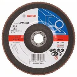 Bosch Лепестковый шлифкруг 180 мм, 22,23 мм, 120 [2608607348]