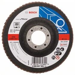 Bosch Лепестковый шлифкруг 115 мм, 22,23 мм, 80 [2608607351]