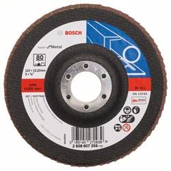 Bosch Лепестковый шлифкруг 125 мм, 22,23 мм, 80 [2608607355]