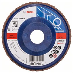 Bosch Лепестковый шлифкруг 115 мм, 22,23 мм, 40 [2608607361]