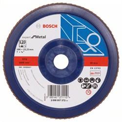 Bosch Лепестковый шлифкруг 180 мм, 22,23 мм, 120 [2608607372]