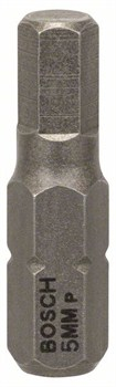 Насадка-бита Bosch Extra Hart HEX 5, 25 mm [2607001726]