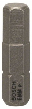 Насадка-бита Bosch Extra Hart HEX 6, 25 mm [2607001728]