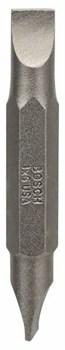Двусторонняя насадка-бита Bosch S 1,0x6,0; S 1,0x6,0; 45 mm [2607001737]