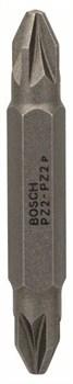 Набор из 3 двухсторонних насадок Bosch PZ2; PZ2; 45 mm [2607001742]