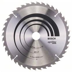 Пильный диск Bosch Optiline Wood 254 x 30 x 2,0 mm, 40 [2608640438]