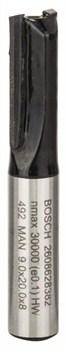 Пазовая фреза 8 mm, Bosch D1 9 mm, L 20 mm, G 51 mm [2608628382]