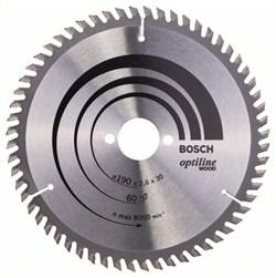 Пильный диск Bosch Optiline Wood 190 x 30 x 2,6 mm, 60 [2608641188]