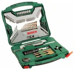 Набор из 100 предметов Bosch X-Line Titanium [2607019330]