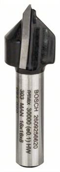 Bosch V-образная пазовая фреза 8 mm, D1 16 mm, L 16,0 mm, G 45 mm, 90° [2609256620]