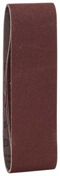 Набор из 3 шлифлент для вариошлифмашин Bosch, «красное» качество 120, без отверстий, на зажимах [2609256184]