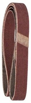 Набор из 3 шлифлент для электрического ленточного напильника Bosch Black & Decker, «красное» качество 60, без отверстий, на зажимах [2609256238]