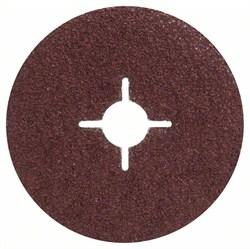 Bosch Набор из 5 фибровых шлифкругов для угловых шлифмашин, корунд  [2609256243]