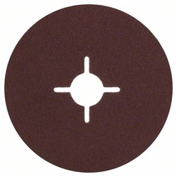 Bosch Набор из 5 фибровых шлифкругов для угловых шлифмашин, корунд  [2609256247]