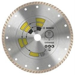 Алмазный отрезной круг Bosch Universal Turbo 115 x 22,23 x 2,0 x 8,0 mm [2609256407]