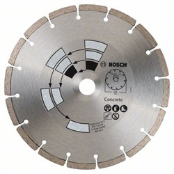 Bosch Алмазный отрезной круг по бетону 230 x 22 x 2,4 x 7,0 mm [2609256415]