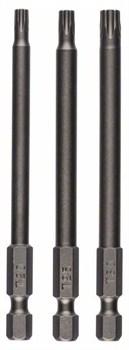 Набор из 3 отвёрток-насадок (Bosch T) T20; T25; T30; 89 mm [2609255972]
