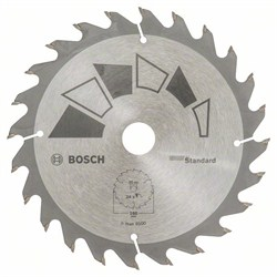 Пильный диск Bosch STANDARD 160 x 20 x 2,2 mm, 24 [2609256810]