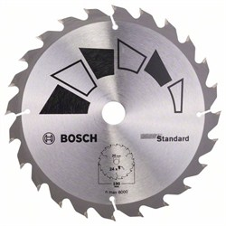 Пильный диск Bosch STANDARD 190 x 20 x 2,2 mm, 24 [2609256818]