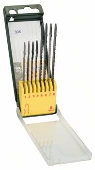 Кассета с пильными полотнами по дереву/металлу/пластмассе (Bosch T-хвостовик), 8 шт. [2607019458]